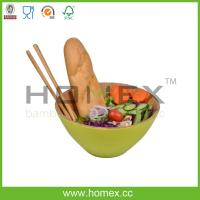 China Fruit Vegetables Salad Bowl/Round Kitchen bamboo Bowls/Houseware tools/Bamboo Bowls/Die Schuessel/salad serving bowl on sale