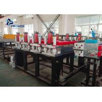 Best 3 Phase Plastic Sheet Extrusion Machine PVC Powder Conical Twin Screw wholesale