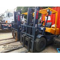 Best Isuzu Diesel Engine Forklift Truck , TCM 3T Used Manual Forklift Truck wholesale