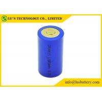 Best CR34615 D Size Lithium Manganese Dioxide Battery Blue / Yellow Color wholesale