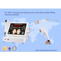 China 3D hifu + freezing for beauty salon and clinic wrinkle lifting removal machine on sale