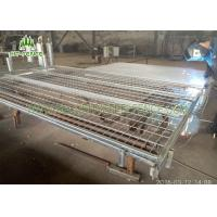 Best Mobile Temporary Fence Panels , Stainless Steel Welded Wire Mesh Panels wholesale