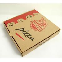 China Customized pizza box for delivery/take away, flexo corrugated box,carton box on sale