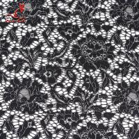 Best African French Nylon Lace Fabric For Garment Light Color Fastness wholesale