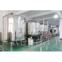 China 10 TPH Drinking Water Filter RO Water Treatment Systems 220V Easy Operation on sale