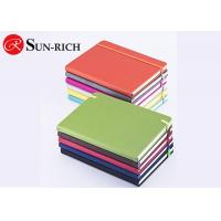 Best Office supplies lay out pu leather a5 size elastic closure custom notebook for promotional office and school use wholesale