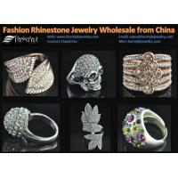 China Fashion Crystal Jewelry Rings Wholesale from China on sale