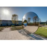Best Morden Highly Polished Stainless Steel Sculpture Torus For Lawn Featuring wholesale