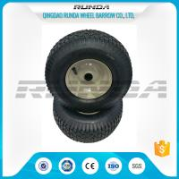 China Multifunctional Heavy Duty Casters Rubber Wheels 13X5.00-6 For Wagon Cart on sale