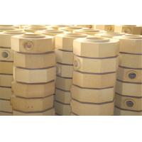China Dry Pressed Cement Kiln Refractory Brick Fire Clay Bricks For Ingot Steel Casting on sale