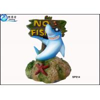 Best No Fishing Mark Cute Modern Fish Tank Ornaments Aquarium Resin Decorations with Dolphins wholesale