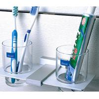 Best Bathroom shelves double cup shelf,cup holder wholesale