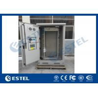 Best Galvanized Steel Thermostatic Outdoor Telecom Cabinet , Outdoor Electronics Cabinet wholesale