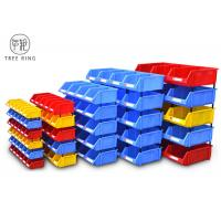 China Heavy Duty Standing Plastic Bin Boxes , Hardware Storage Bins  For Spare Parts on sale