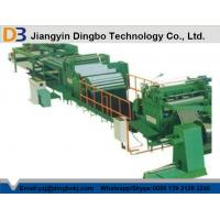 Best High Accuracy DBCTL - 4x1300 Steel Cut To Length Line With 2 Years Warranty wholesale