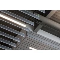 Best Vertical  Linear Screen Ceilings , Sound Dampening Baffle False Ceiling 0.55 ~ 0.90mm Thick wholesale