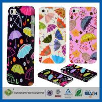 Colorful Umbrella Hard Skin Cover Shell Apple Cell Phone Cases For Iphone 5G 5 5S