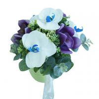 China Most Popular Artificial Real Touch Wedding Bouquet Flower on sale