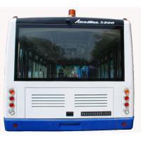 Luxury Radio + DVD + MP3 77 Passenger Airport Apron Bus With 7100mm Wheel Base