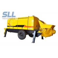 Best Diesel Engine Compact Concrete Pump , Construction Concrete Pump Color Chargeable wholesale