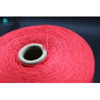 Best Soft Thin Red Sweet Cotton Thread Bobbins For Cigarette Filter Rod Packaging As Center Line wholesale