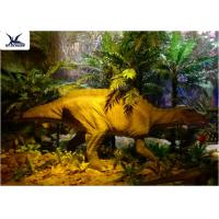 Best Garden Animal Statues For Dinosaur Statue Park , Velociraptor Lawn Ornament  wholesale