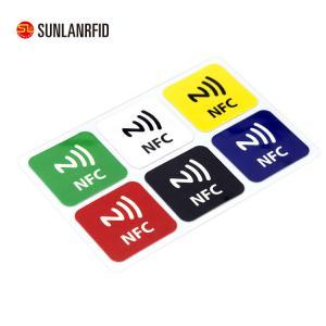 Best 13.56MHz Custom Printed Rewritable RFID NFC Tag Label Sticker (SL-1002) wholesale