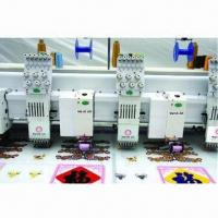 China Multi-heads Mixed Chenille Embroidery Machine with 10 Inches LCD Display on sale