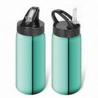 Cheap Stainless Steel Water Bottles with 350 to 1,200ml Capacity, Eco-friendly for sale