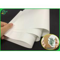 China FSC 80g White Color Matte Gloss Art Paper Roll For Making Company Brochure on sale