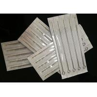 China Disposable Semi Permanent Makeup Needles With Tube Grips 3/4 19 Mm Grip on sale