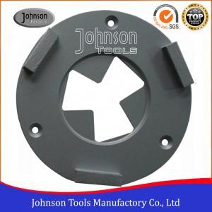 Best 3 Segment Diamond Grinding Wheels 160mm Diamond Concrete Grinders For Epoxy Floor wholesale