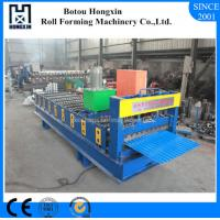 Best 70mm Dia Shaft Corrugated Roof Sheeting Machine With Hydraulic Pump wholesale