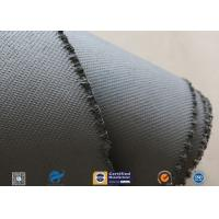 Best 1600gsm Grey Thermal Welding Blanket Materials Silicone Coated Fiberglass Fabric wholesale