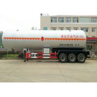 Best 50 m3 Tank Semi Trailer For Liquid Petrol Gas , Butane , Propane Transport wholesale