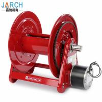 China Pressure Wash Compact Hose Reel 5000PSI 100ft Heavy Duty 12V DC Motor Driven on sale