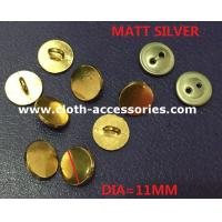 China 11mm Custom Metal Sewing Buttons / Zinc Alloy Button For Lady Dress on sale