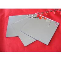 China Tempered Silver Mirror Sheet , Flat Shape Decorative Mirror Glass For Furniture on sale