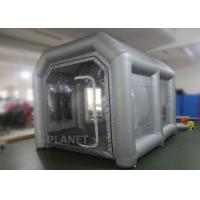 China Eco - Friendly Small Mobile Inflatable Spray Booth Easy To Install CE UL EN14960 on sale