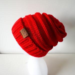 Best 2017 Hot sale 21*25cm 114g fashion 100% acylic cc baby cheap beanie winter kniting warm hats wholesale