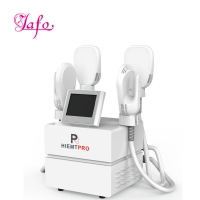 Best Newest Multifuntion 4 handles ems electromagnetic build muscle burn fat slimming machine hiemt for slimming wholesale