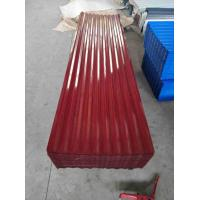 Best Heavy Duty Corrugated Steel Roof Sheets Zinc Coated Standard Size wholesale