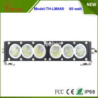 Best New products 12V 24V 60w 11.5 inch slim single row led driving light bar for offroad auto wholesale
