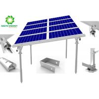 Best Lightweight Aluminum Structure Solar Mounted  Ground Solar Mounting Brackets Anti Corrosion Engineered Design wholesale