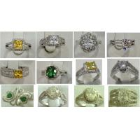 Best color stone ring,fashion ring in 925 silver rings wholesale
