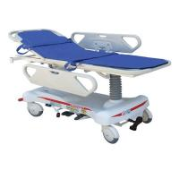 China Hospital ABS Emergency Stretcher Trolley Hydraulic Adjustable For Patient Transfer on sale