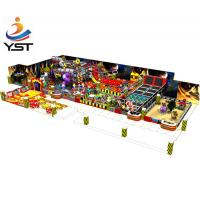 China 3 - 15 Years Old Indoor Soft Play Equipment Kids Naughty Castle Funny Design on sale
