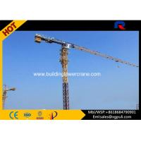 Best 1t Tip Load Topless Tower Crane 4t Max Loading For Building PT5013 wholesale