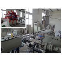 Best OMRON PE Pipe Extrusion Line Pipe Extruding Machine For Gas Water Supply wholesale