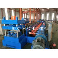 China Road Safety W Beam Crash Barrier Gear Box Guardrail Roll Forming Machine on sale